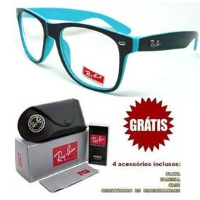ad846a042 Armação Verde Claro Em Acetato Para Óculos De Grau Ray Ban - Óculos ...