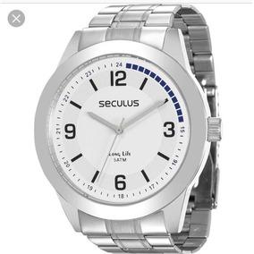 b6d3073ef75 Relogio Seculus Long Life 5 Atm Unissex - Relógios De Pulso no ...