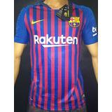 Camisa Barcelona 2018/19 Mod. Jogador Original