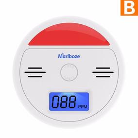 Detector Alarme De Fumaça Monóxido Alta Sensibilidade Aks004
