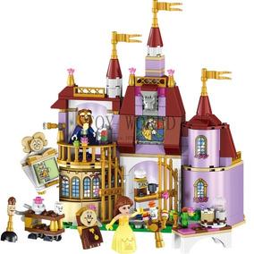 A Bela E A Fera Blocos De Montar Princesa Castelo Lego Comp
