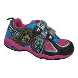 Zapatillas Monster High Con Luces Footy 751 Mundo Manias