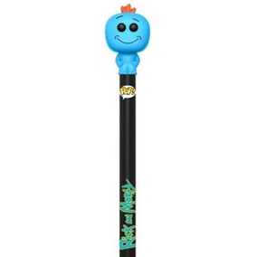 Pop! Caneta Pen Toppers Mr. Meeseeks Rick And Morty