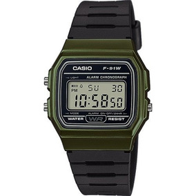 6d61d0ff59eb Reloj Casio F91 Retro Vintage Colores Originales Ndd - Reloj de ...