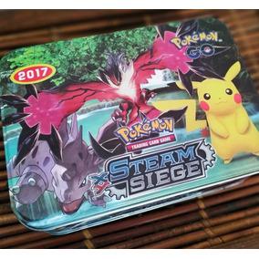 Pokémon Cards Mega Exs+moeda Do Lucario