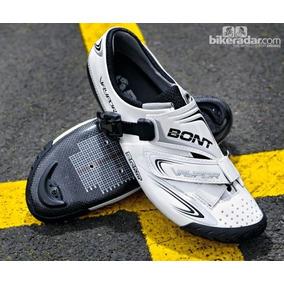 Zapatos De Ruta Bont Modelo Vaypor Road Blancos