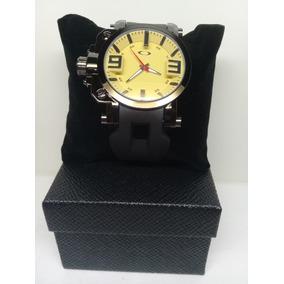 63ee51de070 Amarelo Relogio Oakley Gearbox Original Preto - Relógios De Pulso no ...