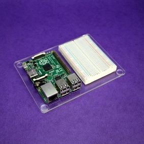 Raspberry Pi Base Acrilico Para Protoboard 400