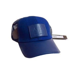 Gorra A|x Armani Exchange Trucker Hat Azul 100% Original