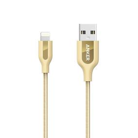 Anker Cable De Carga Lightning A8121hb1 Oro