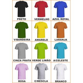 13b29243f0ad8 Kit 10 Camisetas Tamanhos Grandes-cores Variadas(sublimação)