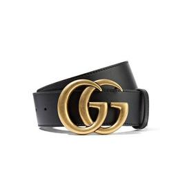a87f28905 Cinturon Dorado Con Pedreria - Cinturones Gucci de Hombre Negro en ...