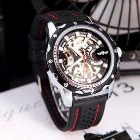 Relógio Masculino Winner Original Skeleton Automático Oferta