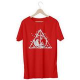 Camisa Camiseta Reliquias Da Morte Harry Potter