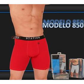 Boxer Biker Largo Daniel´s 850 Algodon Likra Strong 6 Pack