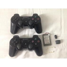 2 Controles Playstation 3 Ler Tudo Quebrado Retirar Peças 92