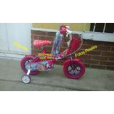 Bicicleta Para Niña De Barbie Bmx Vicicleta De Niña Princesa