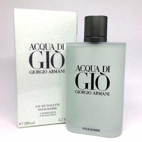 Perfume Acqua Di Gio 200ml Masculino + Amostra De Brinde