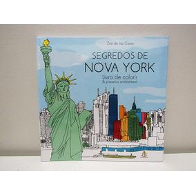 Livro De Colorir Antiestresse - Segredos De Nova York
