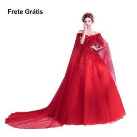 Vestido De Noivas 170088 Fashion Barato Extra Grande