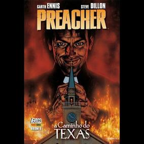 Hq Preacher Vol 1 - A Caminho Do Texas - Panini - Frete Grat