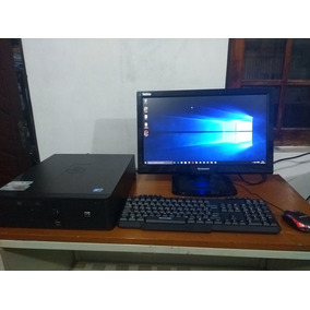 Computador De Mesa Hp Completo Com Monitor 4gb Ram/500gb Hd