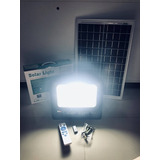 Lampara Led De 20 Watts Con Panel Solar