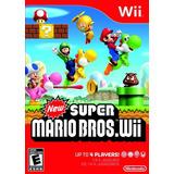 New Super Mario Bros Wii Nuevo + Envio Gratis