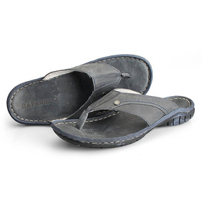 Sandália Em Couro Rafarillo Malibu Marinho