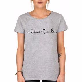 Remera Ariana Grande Pop Star Somos Local Firma A G Envios!