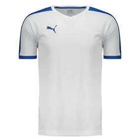 Camiseta Puma Pitch Branca 056dabda6ebd8
