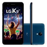 Smartphone Lg K9 Tv Lmx210bmw Azul Novo