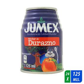 Néctar Jumex Sabor Durazno 24 Latas De 125 Ml C/u
