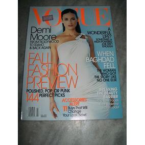 Revista Vogue Americana - Demi Moore - 07/2003