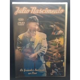 054868edb0 Dvd Julio Nascimento Grandes Sucessos - Música no Mercado Livre Brasil