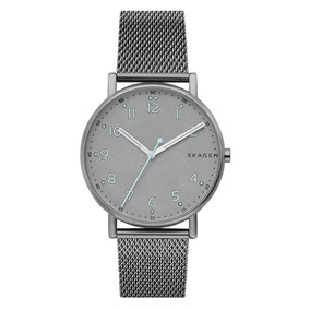 Relógio Masculino Titânio Slim Skagen 956xlttn Fundo Azul - Relógios ... 540417c008