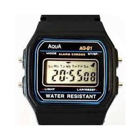 5c6e37dfafc Relogio Aqua Aq-81 Infantil - Relógios De Pulso no Mercado Livre Brasil