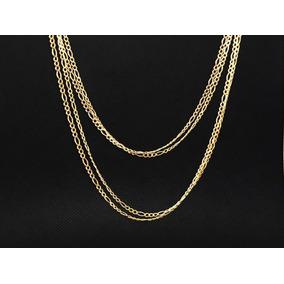 Cadenas De Oro Sólido 10k 50cm Largo A Precio Especial