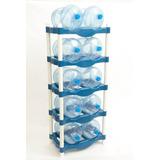 Rack De Plástico Para 10 Garrafones. Envío Gratis