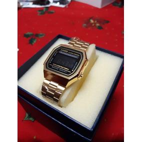 Reloj Casio Dorado Con Negro