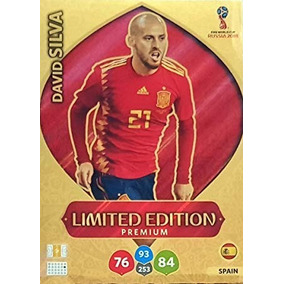 Card David Silva - Limited Edition Premium - Russia 2018