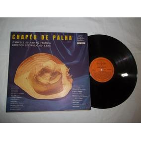 Lp Vinil - Chapéu De Palha - Campeãs Festival Sertanejo Abc 60b8b854bc4