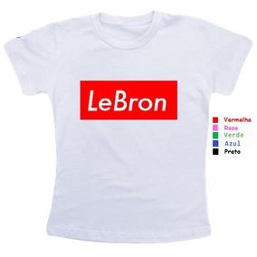 Camisa Camiseta Feminina Baby Look Lebron Jogador Basquete db9c2823bfacb