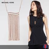 Michael Kors Collar Wonderlust Oro Rosa 60% - Original Nuevo