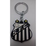 Chaveiro Emborrachado Santos Futebol Clube Escudo ae718b11f9786