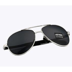 18e1adbd9799d Óculos De Sol Masculino Feminino Aviador Polarizado Original