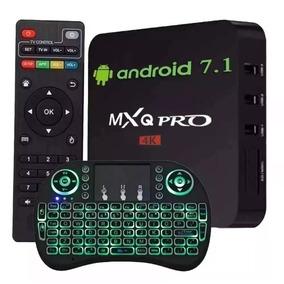 Smart Box Tv Mxq Pro 2gb/16gb + Mini Kayboard Led Color