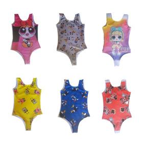 Body Feminino Infantil Kit Com 8 Peças Por Apenas R$120,00