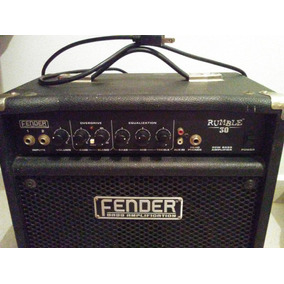 Fender Rumble 30 Amp Para Bajo O Guitarra