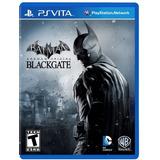 Batman Arkham Origins Blackgate Ps Vita Nuevo Sellado